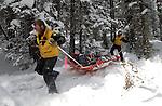 Copper Mountain emergency response scenario March 5, 2003