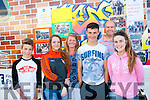 Join In<br /> ---------<br /> The KDYS ( Kerry Diocesan Youth Service) mobile bus visited Fenit last Friday evening present were L-R Sean Vieux,Sarah O'Sullivan,Maire Vieux,Cormac Slattery,Gareth Harteveld and Keeva Reidy