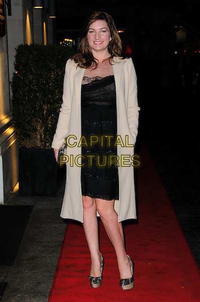 Karren Brady.Daily Mail Inspirational Woman of The Year Awards at the Marriott Grosvenor Square Hotel, London, England..January 18th, 2012.full length beige jacket dress black .CAP/CJ.©Chris Joseph/Capital Pictures.