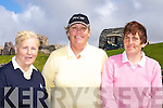 Christine O'Sullivan Killorglin, Heather Murphy Skellig Bay and Catherine O'Brien Dooks at the Skellig Bay Lady captain day on Sunday   Copyright Kerry's Eye 2008