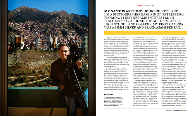 Story about my Latin American photographs and life.