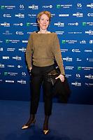 Christelle Cornil lors de la 9ème Cérémonie des Magritte du Cinéma, qui récompense le septième art belge, au Square, à Bruxelles.<br /> Belgique, Bruxelles, 2 février 2019.<br /> Christelle Cornil pictured during the 9th edition of the Magritte du Cinema awards ceremony, <br /> Belgium, Brussels, 2 February 2019.