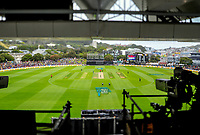 A general view from the RA Vance Stand during the One Day International cricket match between the NZ Black Caps and Pakistan at the Basin Reserve in Wellington, New Zealand on Saturday, 6 January 2018. Photo: Dave Lintott / lintottphoto.co.nz