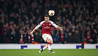 Mathieu Debuchy of Arsenal during the UEFA Europa League group stage match between Arsenal and FC Red Star Belgrade at the Emirates Stadium, London, England on 2 November 2017. Photo by PRiME Media Images.