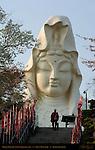 Ofuna Kannon, Byakue Kannon White-Robed Kannon, Ofuna Kannonji, Kamakura, Japan