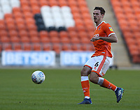 Blackpool's Ben Heneghan<br /> <br /> Photographer Stephen White/CameraSport<br /> <br /> The EFL Sky Bet League One - Blackpool v Rochdale - Saturday 6th October 2018 - Bloomfield Road - Blackpool<br /> <br /> World Copyright © 2018 CameraSport. All rights reserved. 43 Linden Ave. Countesthorpe. Leicester. England. LE8 5PG - Tel: +44 (0) 116 277 4147 - admin@camerasport.com - www.camerasport.com