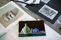 Student artworks, Art & Design, Kingston College.