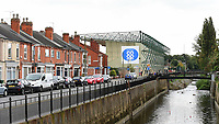 A general view of Sincil Bank, home of Lincoln City FC<br /> <br /> Photographer Chris Vaughan/CameraSport<br /> <br /> The EFL Sky Bet League Two - Lincoln City v Chesterfield - Saturday 7th October 2017 - Sincil Bank - Lincoln<br /> <br /> World Copyright &copy; 2017 CameraSport. All rights reserved. 43 Linden Ave. Countesthorpe. Leicester. England. LE8 5PG - Tel: +44 (0) 116 277 4147 - admin@camerasport.com - www.camerasport.com