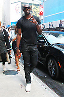 NEW YORK, NY - SEPTEMBER 5: Terrell Owens  at ABC's Good Morning America in New York City on September 5, 2017. Credit: RW/MediaPunch