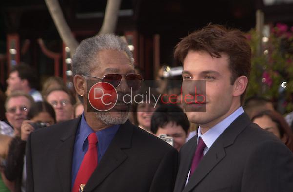 Morgan Freeman and Ben Affleck
