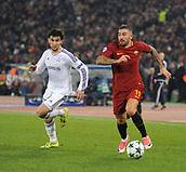 5th December 2017, Stadio Olimpic, Rome, Italy; UEFA Champions league football, AS Roma versus Qarabağ FK; Aleksandar Kolarov
