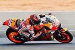 Repsol Honda Team's rider Marc Marquez of Spain rides during the MotoGP Official Test at Chang International Circuit on 16 February 2018, in Buriram, Thailand. Photo by Kaikungwon Duanjumroon / Power Sport Images