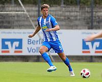 Niklas Stark      <br /> / Sport / Football / pre season friendly Bundesliga  DFL /  2018/2019 / 15.08.2018 / Hertha BSC Berlin vs. Hscher FC Chemie HFC / DFL regulations prohibit any use of photographs as image sequences and/or quasi-video. /<br />       <br />    <br />  *** Local Caption *** &copy; pixathlon