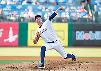 Tulsa Drillers vs NWA Naturals Baseball – Foster Griffin of the Naturals started against the Tulsa Drillers at Arvest Ballpark, Springdale, AR, Wednesday, July 12, 2017,  © 2017 David Beach