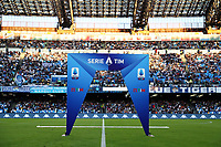 banner LEGA SERIE A<br /> Napoli 19-10-2019 Stadio San Paolo <br /> Football Serie A 2019/2020 <br /> SSC Napoli - Hellas Verona FC<br /> Photo Cesare Purini / Insidefoto