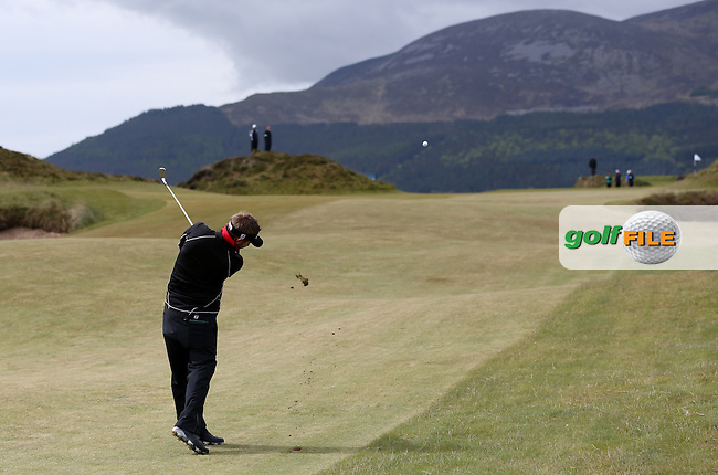Jbe Kruger (RSA) sends it to the pin on the 8th during Round Three of the 2015 Dubai Duty Free Irish Open Hosted by The Rory Foundation at Royal County Down Golf Club, Newcastle County Down, Northern Ireland. 30/05/2015. Picture David Lloyd | www.golffile.ie