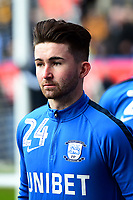 Preston North End's Sean Maguire warms up <br /> <br /> Photographer Richard Martin-Roberts/CameraSport<br /> <br /> The EFL Sky Bet Championship - Bolton Wanderers v Preston North End - Saturday 9th February 2019 - University of Bolton Stadium - Bolton<br /> <br /> World Copyright &copy; 2019 CameraSport. All rights reserved. 43 Linden Ave. Countesthorpe. Leicester. England. LE8 5PG - Tel: +44 (0) 116 277 4147 - admin@camerasport.com - www.camerasport.com