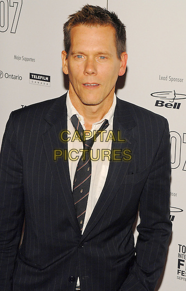 "KEVIN BACON.""Rails and Ties"" Premiere during the Toronto International Film Festival 2007 held at Sutton Place Hotel,  Toronto, Ontario, Canada, 14 September 2007..half length  black tie white shirt.CAP/ADM/BP.©Brent Perniac/AdMedia/Capital Pictures."