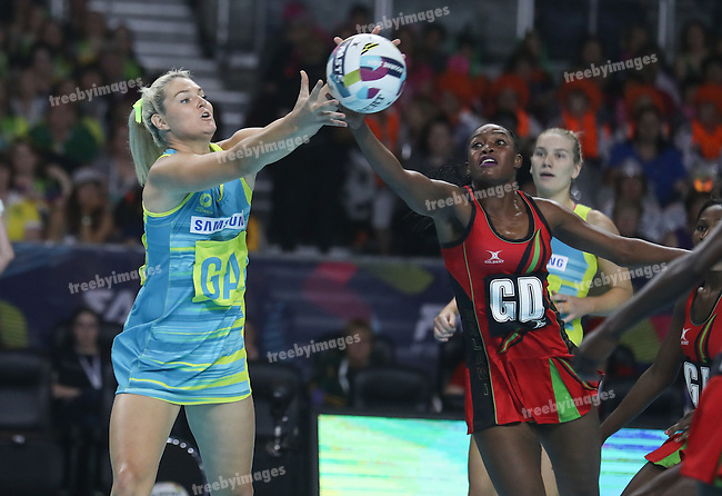 2016 Fast 5 Netball World Series<br /> Game 1<br /> Australia v Malawi