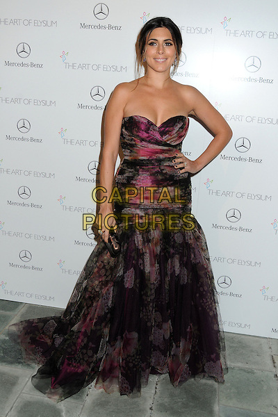 11 January 2014 - Los Angeles, California - Jamie-Lynn Sigler. 7th Annual Art of Elysium Heaven Gala held at the Skirball Cultural Center.  <br /> CAP/ADM/BP<br /> &copy;Byron Purvis/AdMedia/Capital Pictures