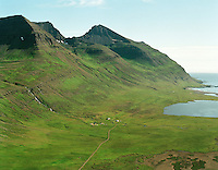 Imastaðir og Vaðlar i Vaðlavík, Helgustaðahreppur /.Imastadir and Vadlar in Vadlavik , Helgustadahreppur.