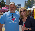 Matt and Missy during the Great Eldorado BBQ, Brews and Blues Festival in Reno, Nevada on Saturday, June 16, 2018.