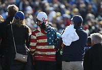 USA fan standouts from the crowd during Saturday's Fourballs, at the Ryder Cup, Le Golf National, Île-de-France, France. 29/09/2018.<br /> Picture David Lloyd / Golffile.ie<br /> <br /> All photo usage must carry mandatory copyright credit (© Golffile | David Lloyd)