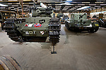 British tank display in the Overloon War Museum, Boxmeer, The Netherlands
