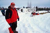 ITC Executive directorStan Hooley/ Cripple check point/   IDITAROD SLED DOG RACE/ ALASKA