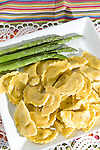 Agnolotti Pasta with Rose Sauce