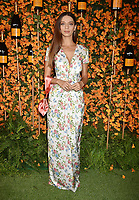 PACIFIC PALISADES, CA - OCTOBER 06: Angela Sarafyan arrives at the 9th Annual Veuve Clicquot Polo Classic Los Angeles at Will Rogers State Historic Park on October 6, 2018 in Pacific Palisades, California.<br /> CAP/ROT/TM<br /> &copy;TM/ROT/Capital Pictures