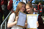 Jinior Cert Results 2010 Tanya Byren and Anna Baran.Picture Fran Caffrey/www.newsfile.ie.