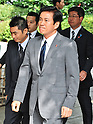 August 15, 2012, Tokyo, Japan - Chiba prefectural governor, Kensaku Morita visits Yasukuni Shrine to pay his respects for the war dead on August 15, 2012 in Tokyo, Japan. (Photo by AFLO)