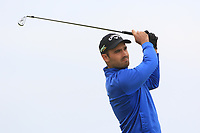 Maximilian Herrmann (GER) on the 1st tee during Round 1of the Flogas Irish Amateur Open Championship 2019 at the Co.Sligo Golf Club, Rosses Point, Sligo, Ireland. 16/05/19<br /> <br /> Picture: Thos Caffrey / Golffile<br /> <br /> All photos usage must carry mandatory copyright credit (© Golffile | Thos Caffrey)