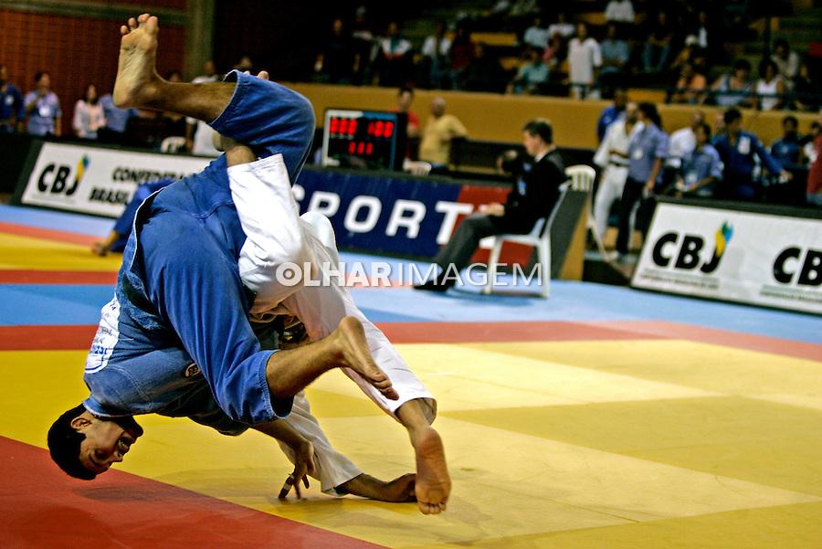 Campeonato de judô. SP. 2005. Foto de Daniel Augusto Jr.