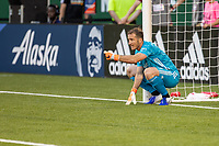 Portland, Oregon - Saturday June 1, 2019: LAFC defeated the Portland Timbers 3-2 in the first home MLS game of the season for the Timbers at Providence Park.