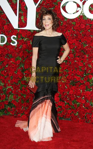 NEW YORK, NY-June 12: Andrea Martin  at the 70th Annual Tony Awards at the Beacon Theatre in New York. NY June 12, 2016. <br /> CAP/MPI/RW<br /> &copy;RW/MPI/Capital Pictures