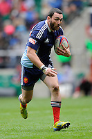 Bryan Dimeck of France in action during Day Two of the iRB Marriott London Sevens at Twickenham on Sunday 11th May 2014 (Photo by Rob Munro)