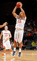 CHARLOTTESVILLE, VA- December 27: Malcolm Brogdon #22 of the Virginia Cavaliers handles the ball during the game against the Maryland-Eastern Shore Hawks on December 27, 2011 at the John Paul Jones Arena in Charlottesville, Va. Virginia defeated Maryland Eastern Shore 69-42.  (Photo by Andrew Shurtleff/Getty Images) *** Local Caption *** Malcolm Brogdon
