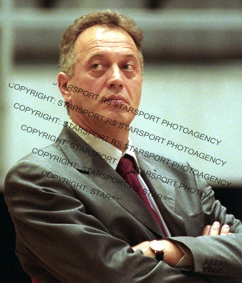 SPORT KOSARKA CRVENA ZVEZDA Zmago Sagadin 2004. foto: Pedja Milosavljevic<br />