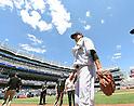 Masahiro Tanaka (Yankees), JULY 23, 2015 - MLB : New York Yankees starting pitcher Masahiro Tanaka walks before a baseball game against the Baltimore Orioles at Yankee Stadium in New York, United States. (Photo by AFLO)