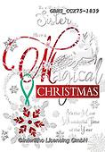 John, CHRISTMAS SYMBOLS, WEIHNACHTEN SYMBOLE, NAVIDAD SÍMBOLOS, paintings+++++,GBHSCCX75-1839,#xx#