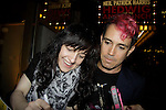 Hedwig and the Angry Inch stars Lena Hall and Peter Yanowitz (drums) on May 11, 2014 at the Belasco Theatre in New York City, New York.  (Photo by Sue Coflin/Max Photos)