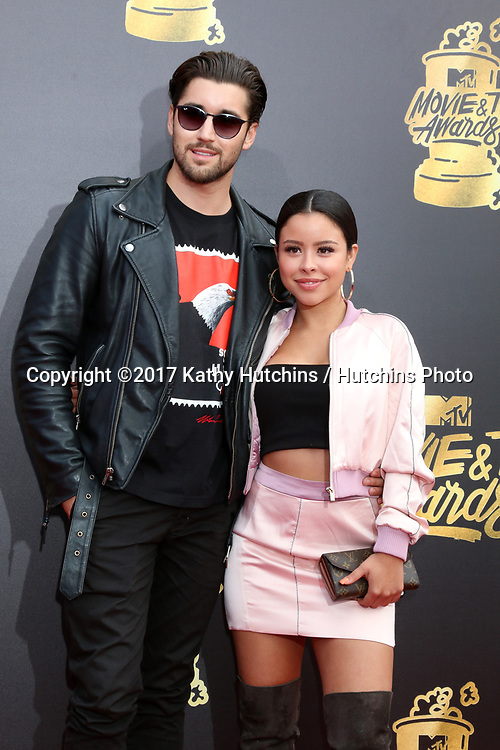 LOS ANGELES - MAY 7:  Jeff Wittek. Cierra Ramirez at the MTV Movie and Television Awards on the Shrine Auditorium on May 7, 2017 in Los Angeles, CA