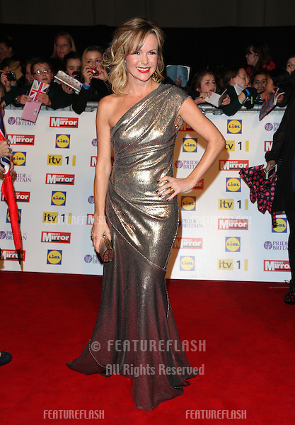 Amanda Holden arriving for the 2012 Pride of Britain Awards, at the Grosvenor House Hotel, London. 29/10/2012 Picture by: Alexandra Glen / Featureflash