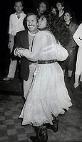 Sonny Bono and wife Susie Coelho<br /> Photo By John Barrett/PHOTOlink