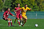 18 September 2011: University of Vermont Catamount Defender Joe Losier, a Senior from Glastonbury, CT, in action against the Harvard University Crimson at Centennial Field in Burlington, Vermont. The Catamounts shut out the visiting Crimson 1-0, earning their 3rd straight victory of the 2011 season. Mandatory Credit: Ed Wolfstein Photo