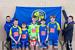 LB Rovers players and mentors who played in the Jack O'Sullivan 3rd annual Memorial five-a-side soccer tournament held in the Ballybunion Community Centre on Sunday last. l-r, Owen O'Mahoney, Darragh Scanlon, Padraig O'Connor, Michael Whelan, Cian Sheehy, Jack Sheehy and David Tyrell.