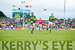 Shane Enright Kerry in action against  Cork in the Munster Senior Football Final at Fitzgerald Stadium on Sunday.