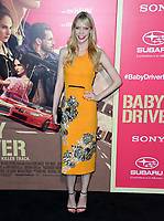 Riki Lindhome at the Los Angeles premiere for &quot;Baby Driver&quot; at the Ace Hotel Downtown. <br /> Los Angeles, USA 14 June  2017<br /> Picture: Paul Smith/Featureflash/SilverHub 0208 004 5359 sales@silverhubmedia.com